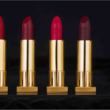 Synchronzing the look of the lipstick's outer shell, and smoothing and shaping up the lipstick balm