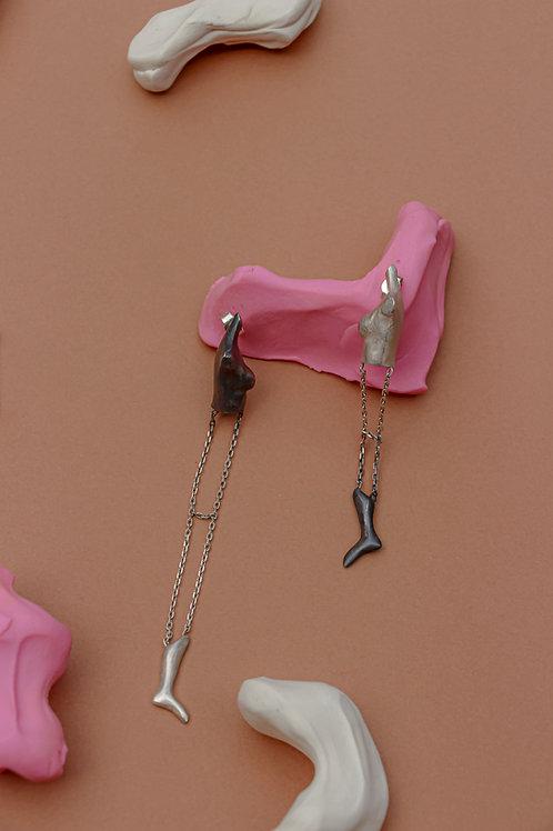 Naked Feminist Earrings