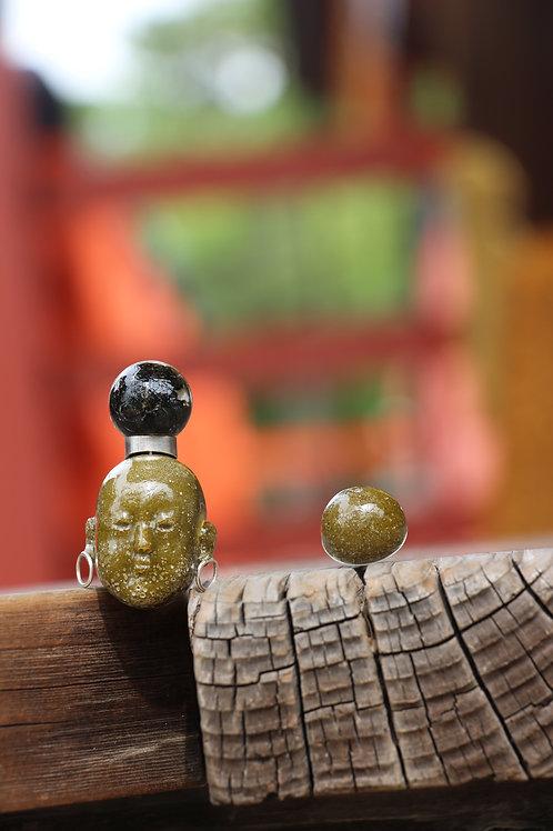 Amaterasu earrings
