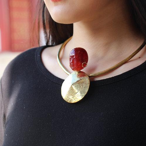 Jizo neckpiece