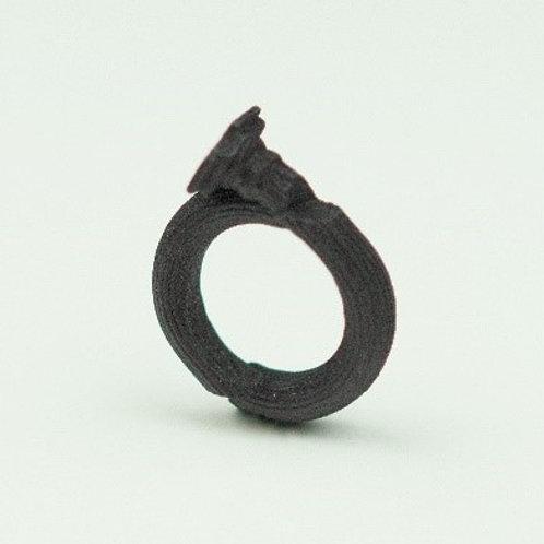 Fragmented column ring
