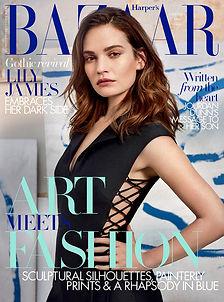 Lily-James-covers-Harpers-Bazaar-UK-Nove