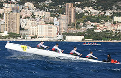 Aviron de mer Coastal Rowing Challenge Prince Albert II ©EricMarieMagaviron
