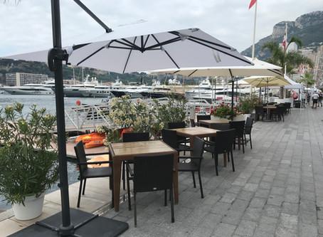 La terrasse du Restaurant double