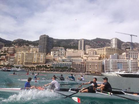 aviron régate port Monaco