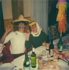 Bernard et Anne déguisés