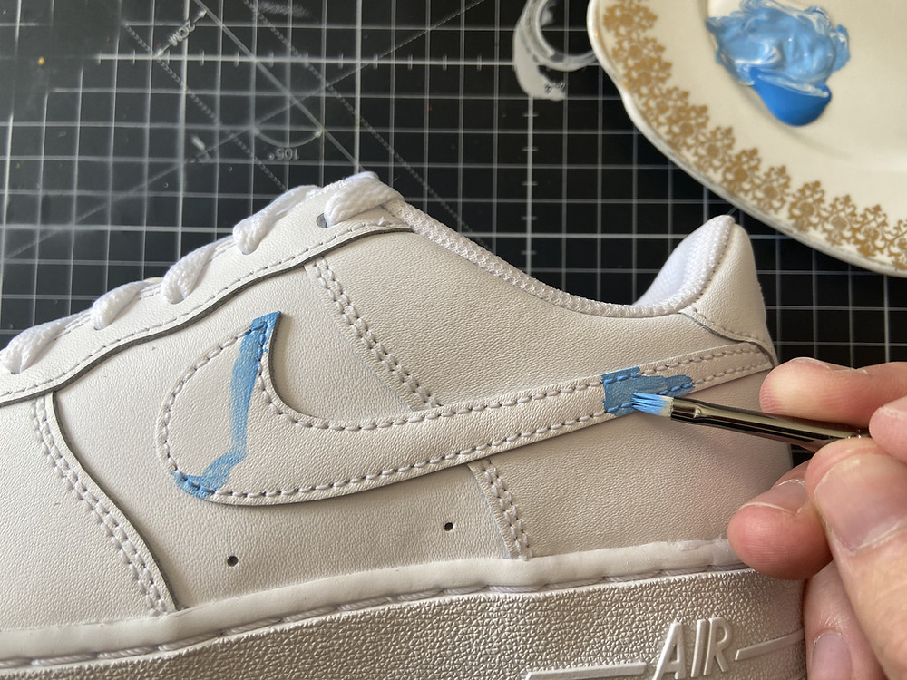 How To Prepare and Paint Air Force 1's