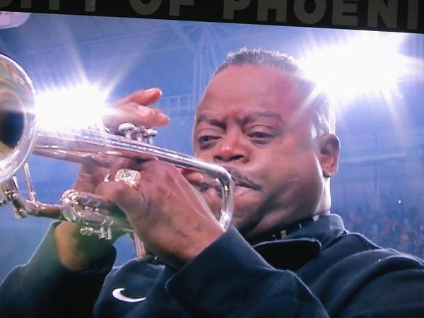 Dr. Jesse McGuire, National Anthem, VISIO Fiesta Bowl, 2014
