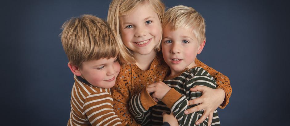 Kleine Persönlichkeiten im Fotostudio