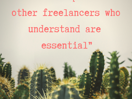 Freelance Friendship feels