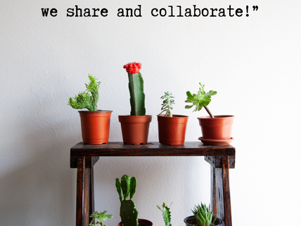 Sharing and collaboration feels