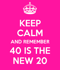 39 is fine: And we don't even feel it!
