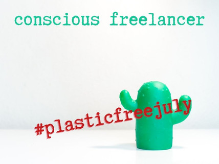 Plastic free July: How to be a more eco-friendly freelancer