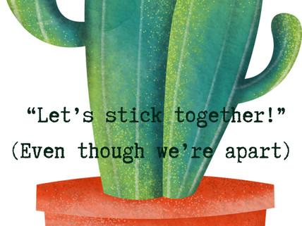 Sticking together as freelancers