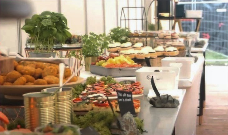 backstage catering vip