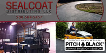 Sealcoat Distributing LLC - Official Manufacturer of Pitch Black® Sealcoat in Blackfoot, ID Territory