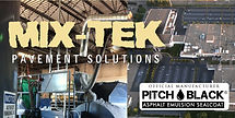 Mix-Tek Pavement Solutions - Official Manufacturer of Pitch Black® Sealcoat in Blaine, MN Territory