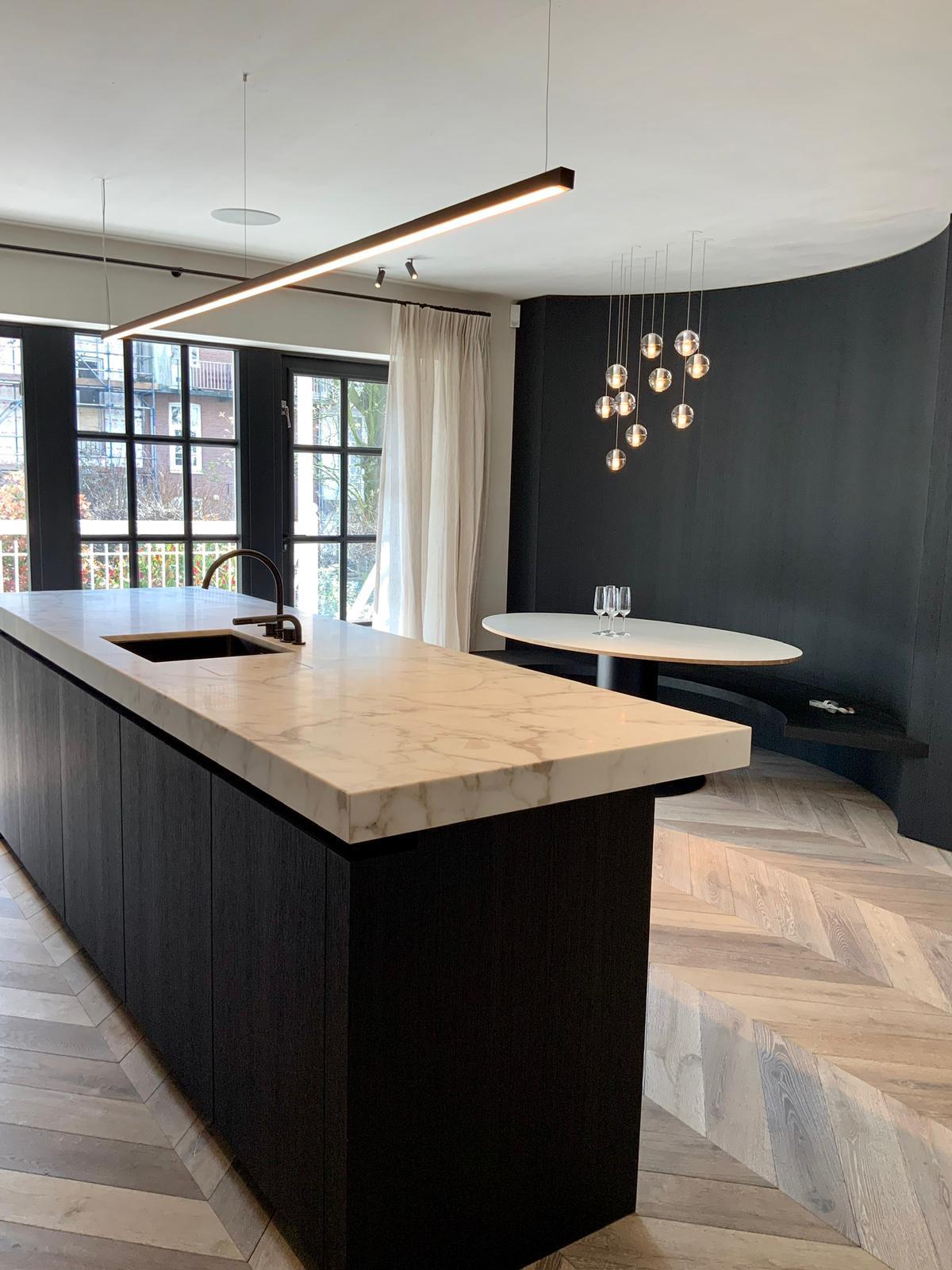 Keuken duplex Amsterdam
