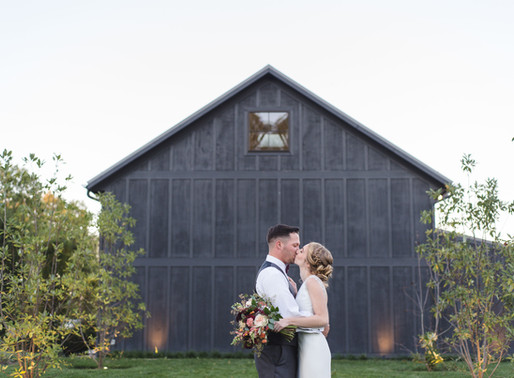 A Gorgeous Greenhouse Wedding | Caitlyn & Brad | Jorgensen Farms