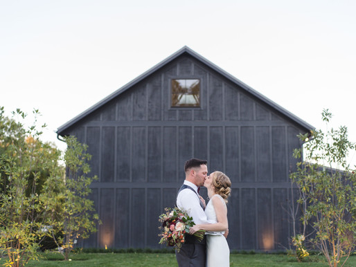 A Gorgeous Greenhouse Wedding | Caitlyn & Brad | Jorgensen Farms