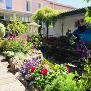 Aménagement de patio