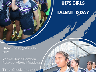 Lisa Fiaola Under 17 Girls Talent Day