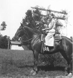 Vera Long horseback