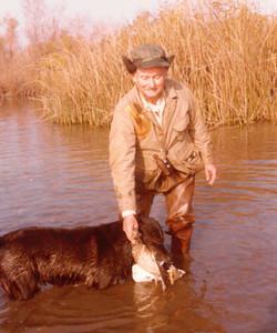 Joe Long duckhunting