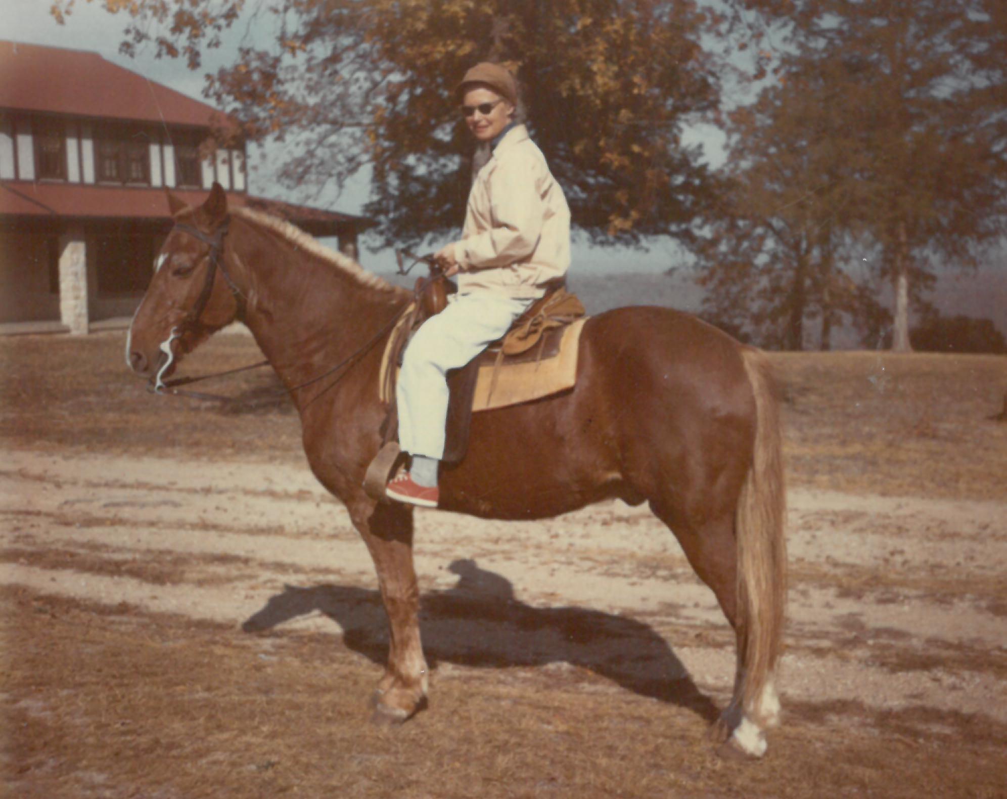 Vera Long horseback Missouri
