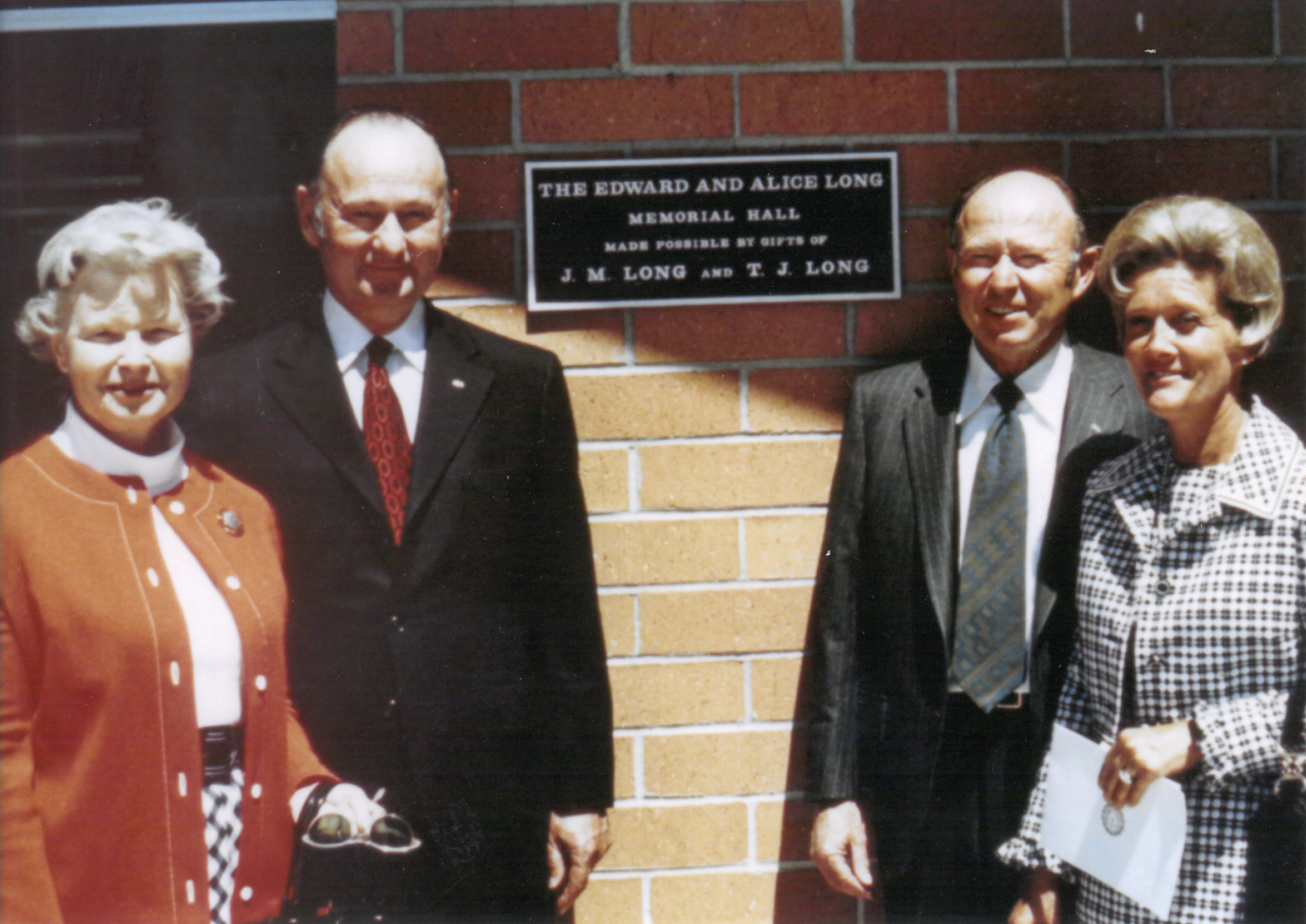 Long Hall Dedication