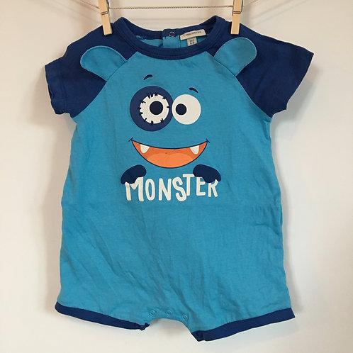 """Pyjamas bleu """"Monster"""""""