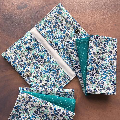 """Paquet de mouchoirs """"Liberty bleu"""""""