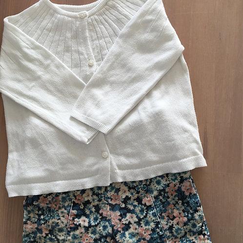 Gilet blanc Zara