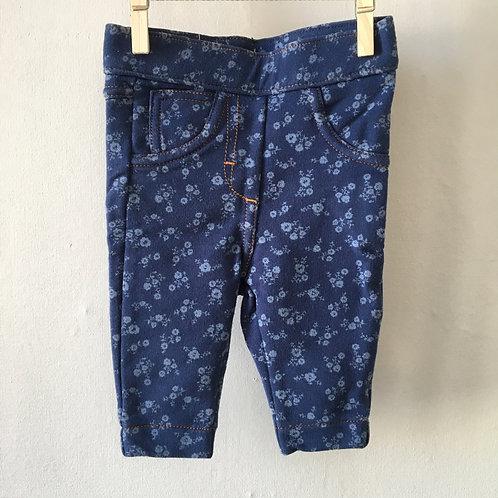 Legging bleu jean