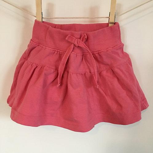 Jupe-culotte rose
