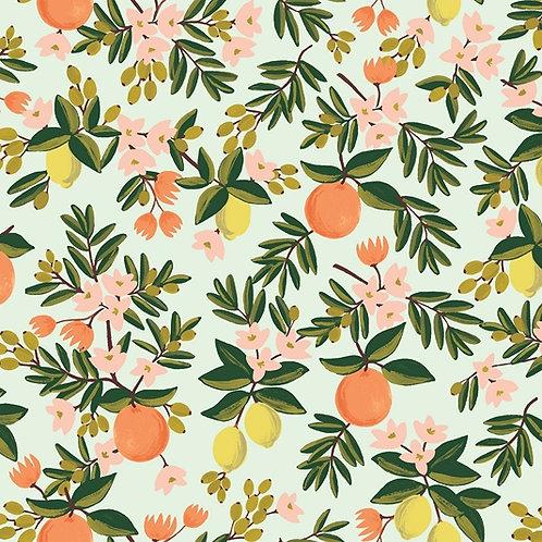 """Petit essuie-tout """"Citrons & mandarines"""""""