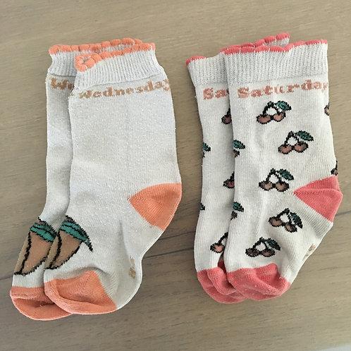 Duo de chaussettes