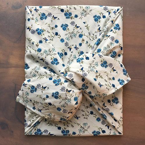"Furoshiki ""Fleurs bleues"""