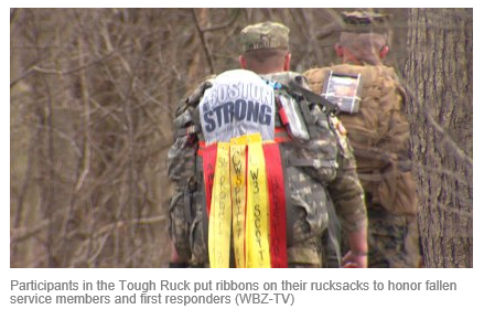 Slain Officer Michael Chesna Honored By Participants In Tough Ruck Marathon