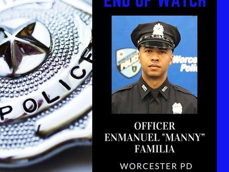 "Hero Wall - Officer Enmanuel ""Manny"" Familia"