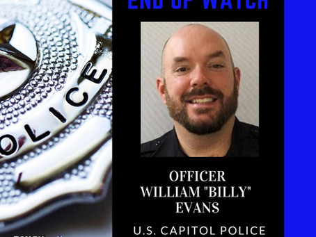 "Hero Wall - Officer William ""Billy"" Evans"