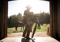 Salt Creek Ranch Saddle