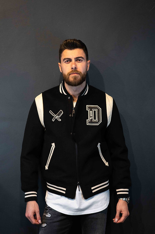 Distorted People College Jacket