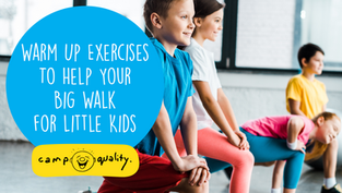 Warm Up Exercises To Help Your Big Walk For Little Kids