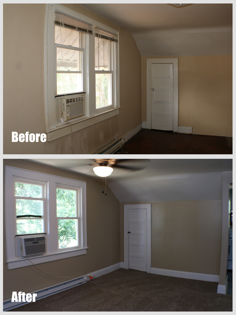 Washington Apt D Before After Multi room