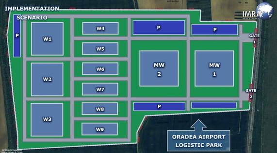 3.5 HA - Logistic Park - Implementation