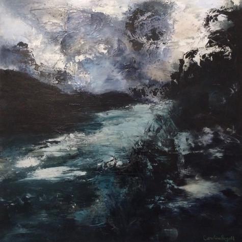 At the River 1 - The Sabinal
