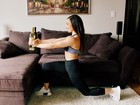 A Wino's Guide to Staying Fit
