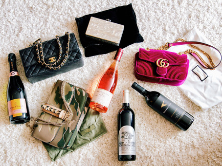 The Grape Chic Handbag & Wine Pairing