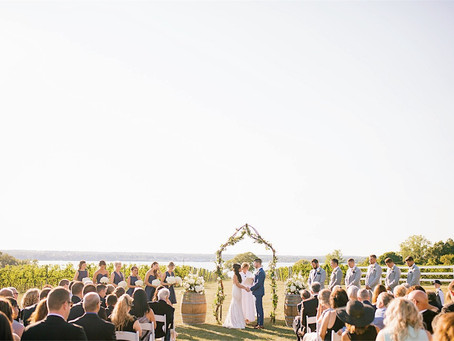 The Top 7 Reasons To Have a Vineyard Wedding